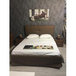 Комплект кровать 160*200 + 2 тумбы  Amalti