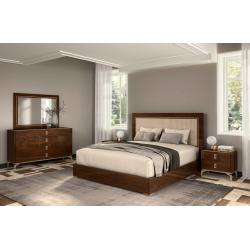 Кровать с мягким изголовьем 155*200 Elliot