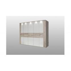 Шкаф 5-ти створчатый с подсветкой Rondino