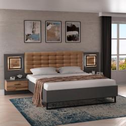Кровать 180*200 Sirius Black