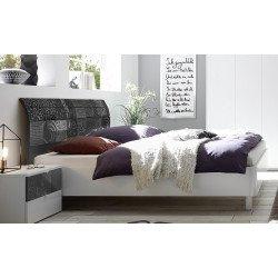 Кровать 180*200 с изогнутой спинкой Xaos