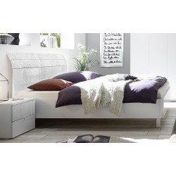 Кровать 160*200 с изогнутой спинкой Xaos