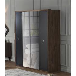 Шкаф 4-х дверный New