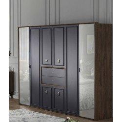 Шкаф 6- дверный New
