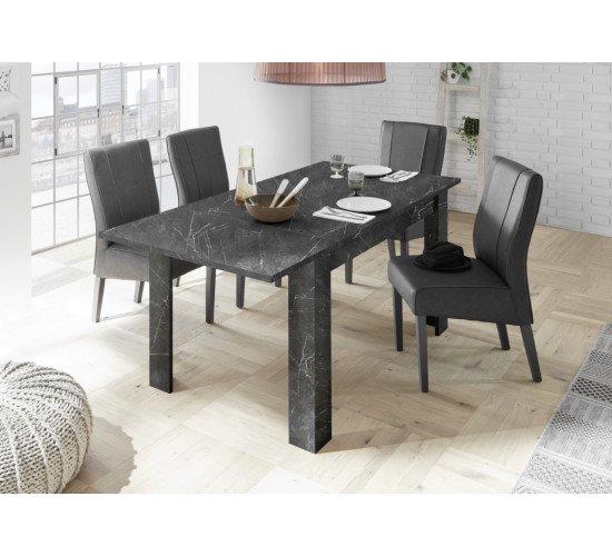 Стол обеденный 137 (+48) Carrara