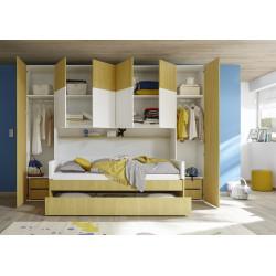 Комплект шкафов с антресолью Enjoy