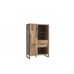 Книжный шкаф 2 дв Hud