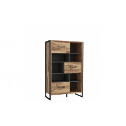 Книжный шкаф 3 дв Hud