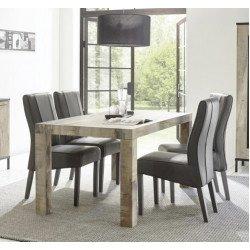 Стол обеденный 137 (+48) Wood Mango