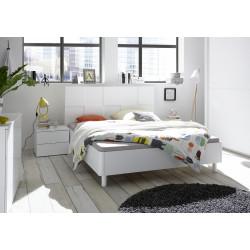 Кровать 160*200 белая Ottica