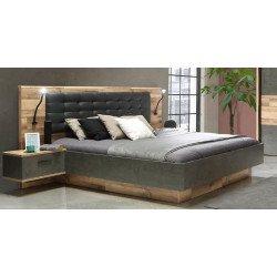 Кровать 180*200 на подиуме Ricciano