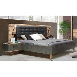 Кровать 160*200 на ножках Ricciano (с подсветкой)
