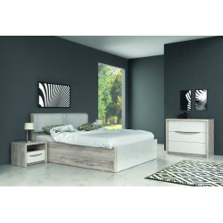 Кровать 140*190 с подъемным механизмом Saint Tropez