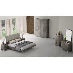 Кровать 160 Grey