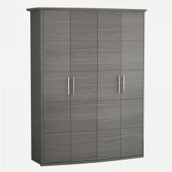 Шкаф 4-х створчатый Grey