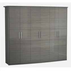Шкаф 6-ти створчатый Grey