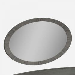 Зеркало овальное Grey