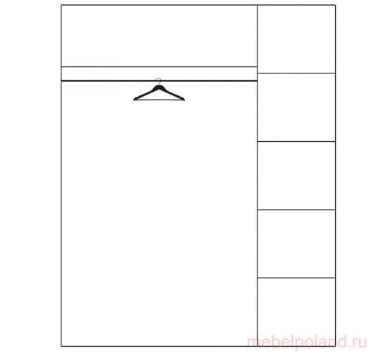 Шкаф 3 дв Veta